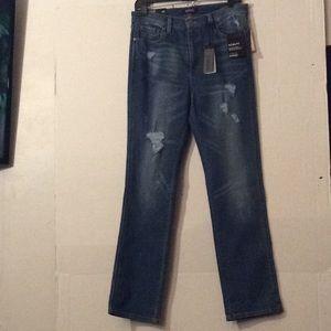 NWT Buffalo David Bitton H/rise cropped jeans #29